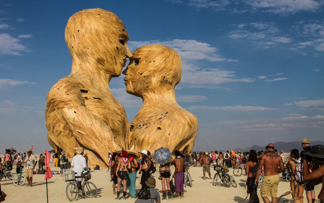 Incredible Videos of Burning Man 2014 (drone)