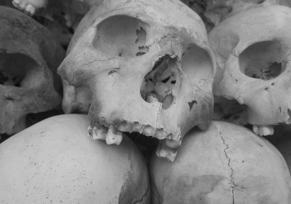 One more time into the darkness, The Killing Fields and Genocide Museum Cambodia