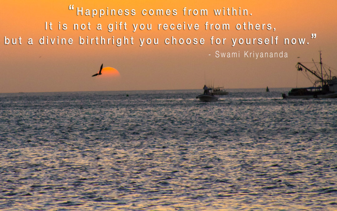 Happiness is a Birthright