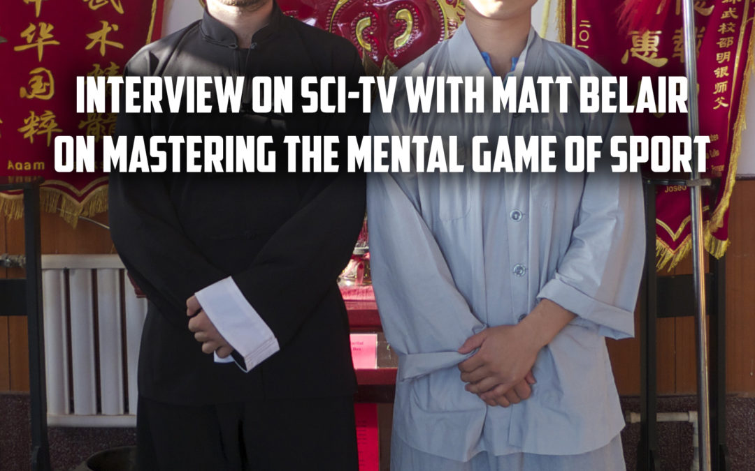 Interview on Sci TV with Matt Belair On Mastering the Mental Game of Sport