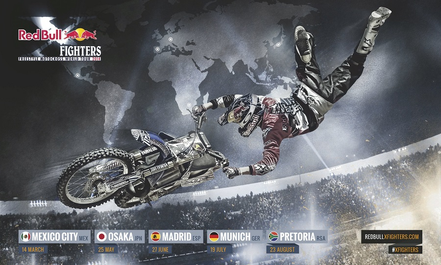 Tom Pages UNBELIEVABLE Winning Run from Redbull X-Fighter From Madrid!