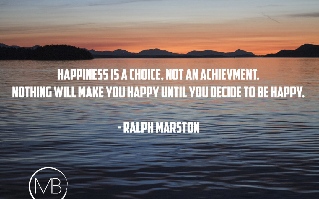 A Simple Lesson and Quote on Happiness