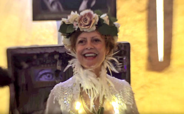 Susan Sarandon Drinks and Releases Timothy Leary's Ashes at Burning Man: RIP and THANK YOU TIM!