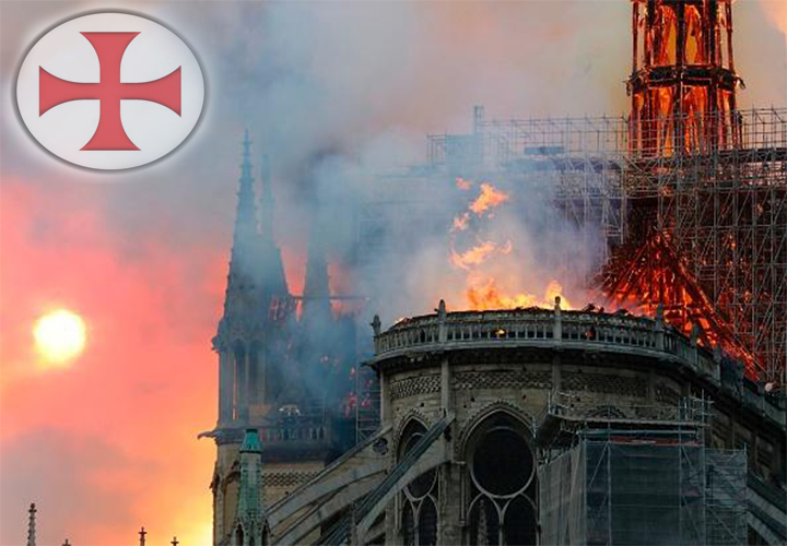 250 | The Notre-Dame Cathedral Fire, Knights Templar Connection, Pole Shift & Alien Contact
