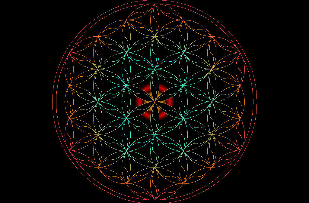 5 minute Flower of Life Meditation - Perfect Harmonics