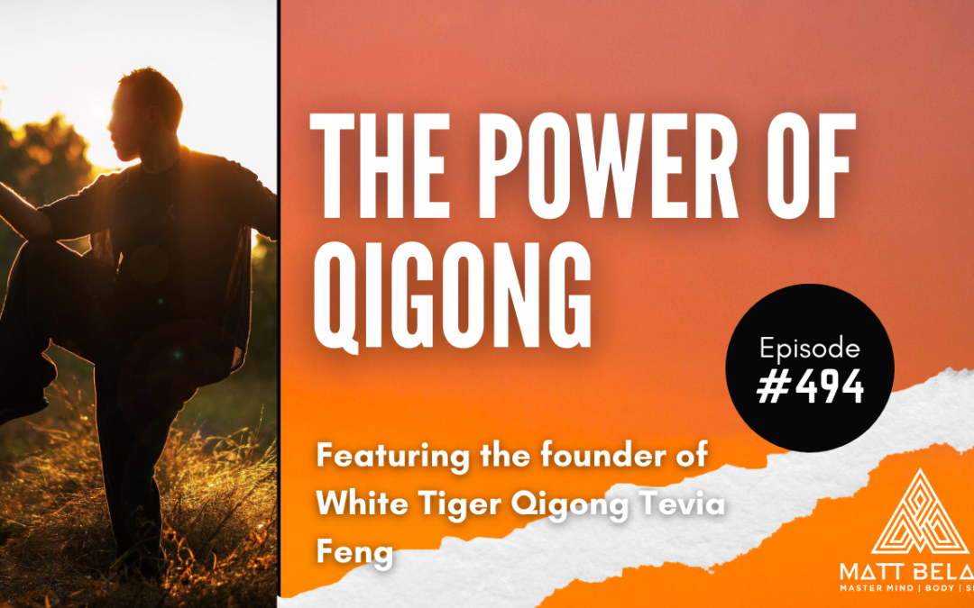 #494   Tevia Feng: The Power of QiGong for Healing, Cultivating Human Potential and Developing Mental and Spiritual Power